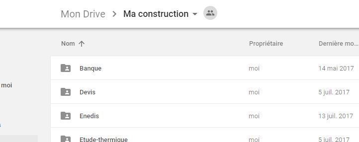 Google drive pour gérer ses documents